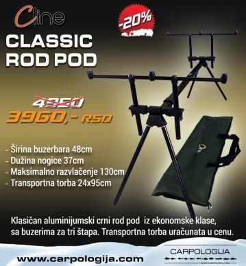 C Line Classic Rod Pod